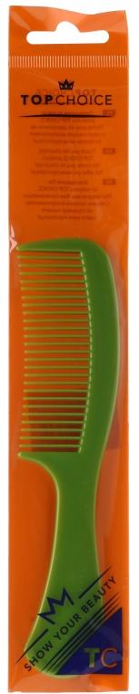 Pettine per capelli 60304, verde - Top Choice — foto N1
