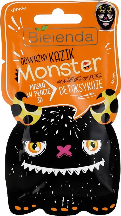 Maschera viso detox - Bielenda Monster 3D Fase Detox Mask