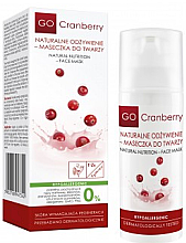 Profumi e cosmetici Maschera viso nutriente - GoCranberry Natural Nutrition Facial Mask