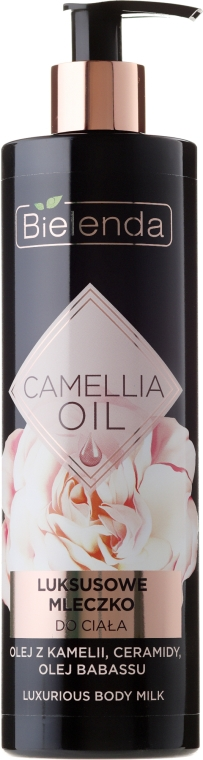 Latte corpo - Bielenda Camellia Oil Luxurious Body Milk