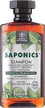 """Profumi e cosmetici Shampoo """"Ortica e saponaria"""" - Farmona Saponics Shampoo with Natural Soapwort and Nettle Leaf Extracts"""