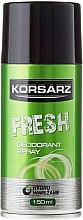 "Profumi e cosmetici Deodorante spray ""Fresh"" - Pharma CF Korsarz Fresh Deodorant"