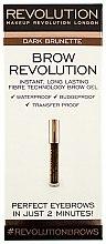 Profumi e cosmetici Gel per le sopracciglia - Makeup Revolution Brow Revolution Brow Gel