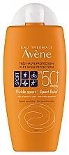 Profumi e cosmetici Fluido solare - Avene Solaire Fluide Sport SPF 50+