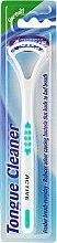 Profumi e cosmetici Raschietto pulisci lingua, bianco-verde - Beauty Formulas Active Oral Care Tongue Cleaner