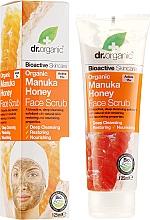 """Profumi e cosmetici Scrub viso """"Miele di Manuka"""" - Dr. Organic Manuka Honey Face Scrub"""