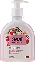 """Profumi e cosmetici Sapone-crema """"Lampone dolce"""" - Seal Cosmetics Cream Soap"""