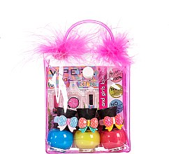 Profumi e cosmetici Set in beauty case con pompon - Tutu Peel-Off (n/polish/5mlx3 + bag) (11)