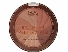 Profumi e cosmetici Cipria abbronzante - MUA Bronzed Perfection Multi Bronzing Powder