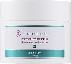 Profumi e cosmetici Peeling mani alla glicerina - Charmine Rose Perfect Hydro Scrub
