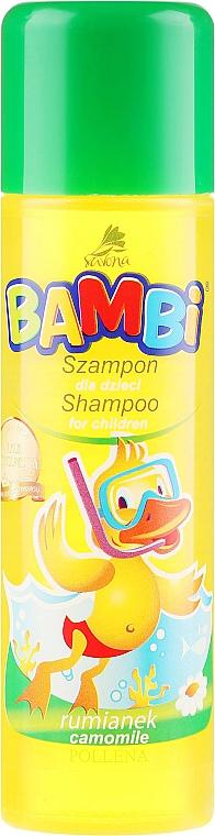 Shampoo alla camomilla per bambini - Pollena Savona Bambi Chamomile Shampoo