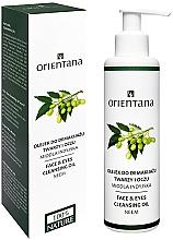 Profumi e cosmetici Olio struccante - Orientana Nourishing Cleansing Oil For Face & Eyes Neem
