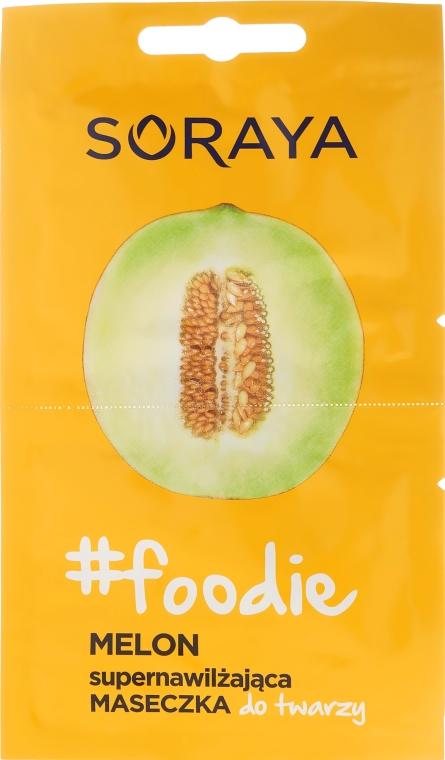 Maschera viso con estratto di melone - Soraya Foodie Melon Super-Hydrating Face Mask
