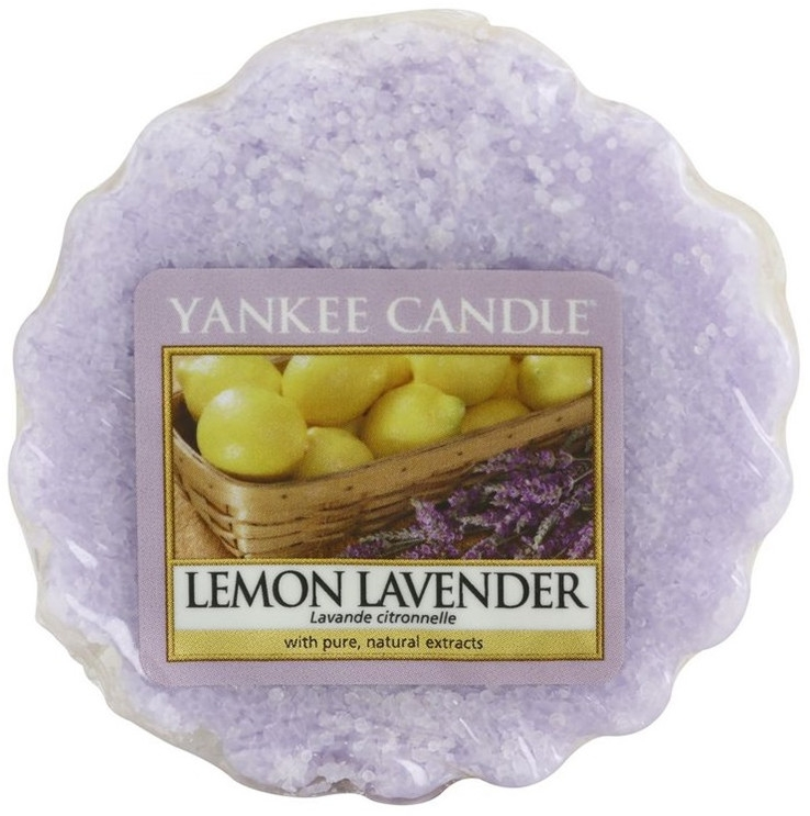 Cera profumata - Yankee Candle Lemon Lavender Tarts Wax Melts