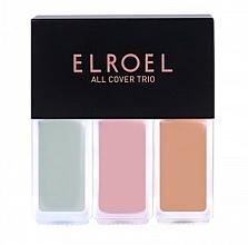 Profumi e cosmetici Correttore - Elroel All Cover Trio