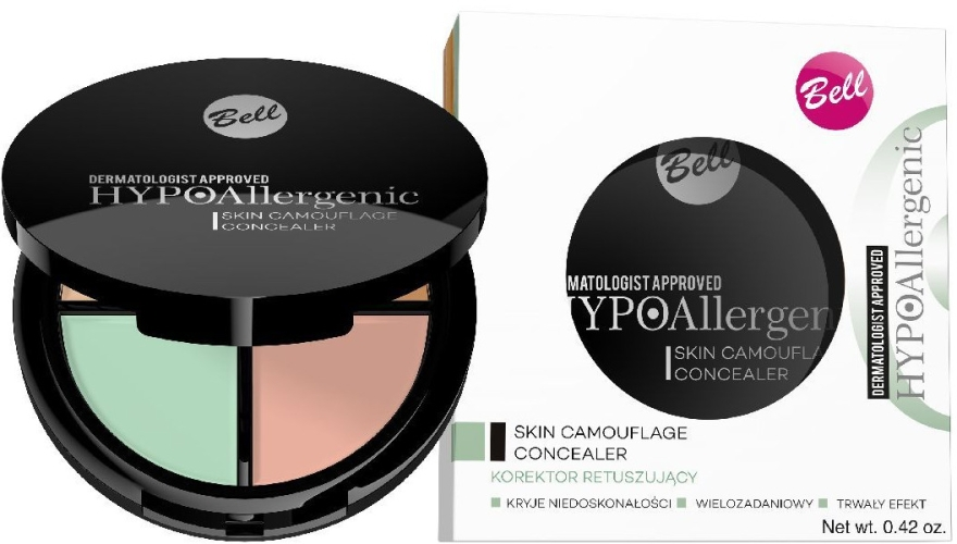 Correttore ipoallergenico - Bell Hypoallergenic Skin Camouflage Concealer