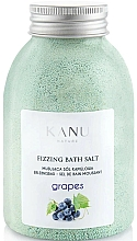 "Profumi e cosmetici Sale da bagno frizzante ""Uva"" - Kanu Nature Grapes Fizzing Bath Salt"