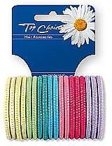 Profumi e cosmetici Elastici per capelli 18 pz, multicolore, 22180 - Top Choice