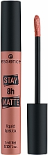 Profumi e cosmetici Rossetto liquido - Essence Stay 8H Matte Liquid Lipstick