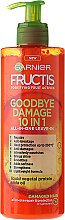 Profumi e cosmetici Crema per capelli doppie punte 10 in 1 - Garnier Fructis Goodbye Damage 10in1