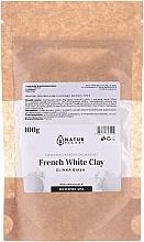 Profumi e cosmetici Maschera viso - Natur Planet French White Clay