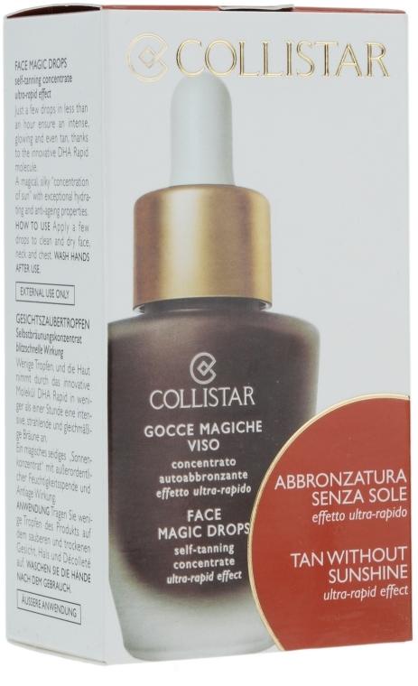Prodotto abbronzante concentrato per viso - Collistar Abbronzatura Senza Sole Self Tanning Concentrate Ultra Rapid Effect