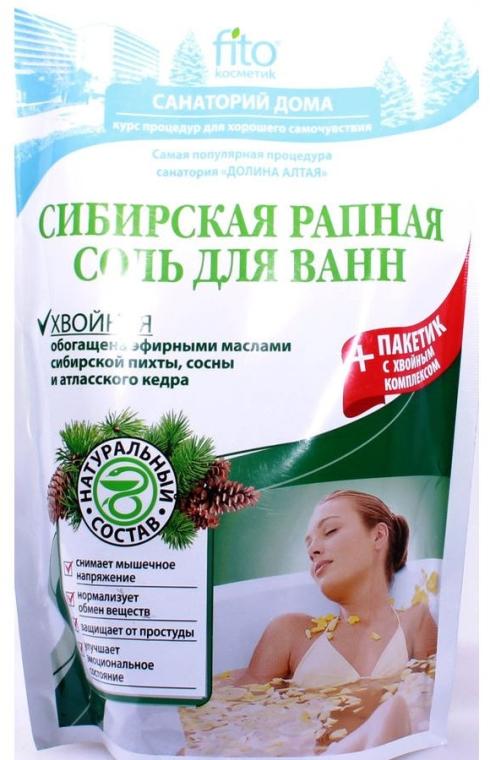 """Sale da bagno """"Siberiana"""" con estratto di conifere - Fito cosmetica"""