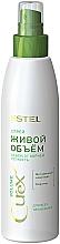 Profumi e cosmetici Spray per tutti i tipi di capelli - Estel Professional Curex Volume Spray