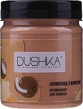 """Profumi e cosmetici Condizionante per capelli """"Cioccolato con cocco"""" - Dushka"""
