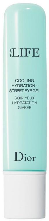 Gel-sorbetto contorno occhi - Dior Hydra Life Cooling Hydration Sorbet Eye Gel