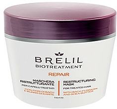 Profumi e cosmetici Maschera rigenerante - Brelil Bio Treatment Repair Mask