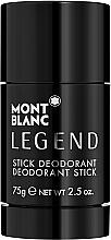 Profumi e cosmetici Montblanc Legend Stick - Deodorante