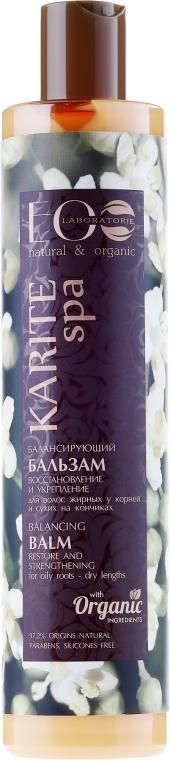 """Balsamo per capelli """"Recupero e rafforzamento"""" - Eco Laboratorie Karite SPA Balsam"""