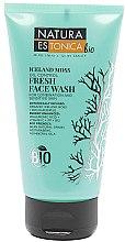Profumi e cosmetici Gel rinfrescante - Natura Estonica Iceland Moss Face Wash