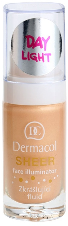Illuminante viso - Dermacol Sheer Face Illuminator