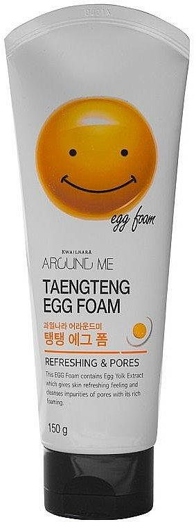 Schiuma detergente con estratto di tuorlo d'uovo - Welcos Around Me Egg Foam