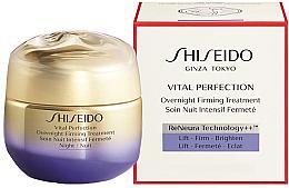 Profumi e cosmetici Crema viso da notte - Shiseido Vital Perfection Overnight Firming Treatment