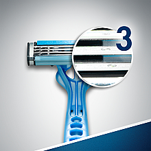 "Set rasoio ""Usa e getta, 6+2"" pz - Gillette Blue 3 — foto N7"