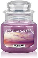 "Profumi e cosmetici Candela profumata ""Dreams"" (in vetro) - Country Candle Daydreams"