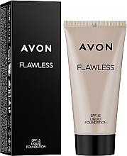 """Profumi e cosmetici Crema viso """"Tono impeccabile"""" - Avon Flawless Liquid Foundation SPF15"""