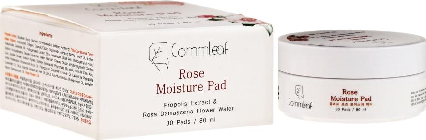 Dischetti detergenti di cotone - Commleaf Rose Moisture Pad
