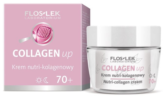 "Crema viso ""Collagene"", 70+ - Floslek Collagen Up Nutrii-collagen Cream 70+"