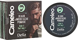 Profumi e cosmetici Cera barba - Delia Cameleo Men Beard and Moustache Pomade