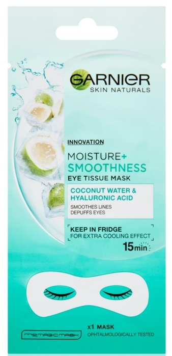 Maschera contorno occhi - Garnier Skin Naturals Moisture+ Smoothness