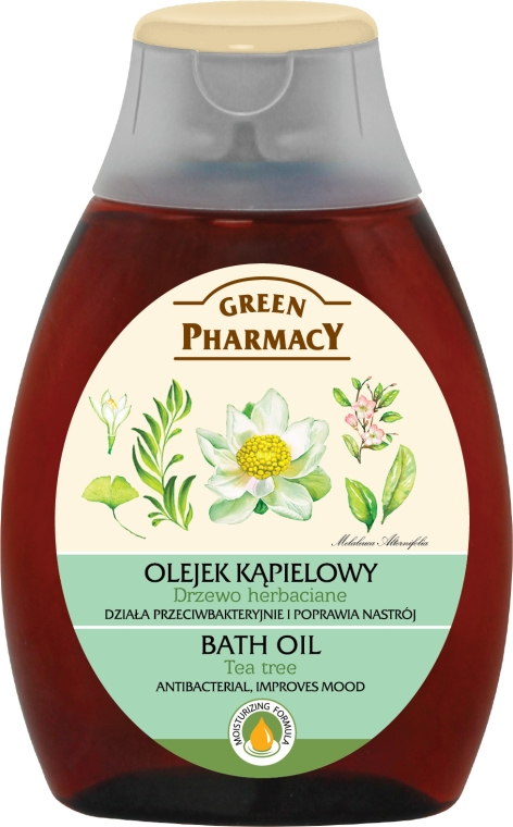 "Olio bagno ""Tea tree"" - Green Pharmacy Tea Tree Bath Oil"
