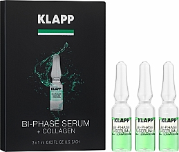 "Profumi e cosmetici Siero bifasico ""Collagene"" - Klapp Bi-Phase Serum Collagen"