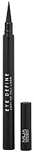 Profumi e cosmetici Eyeliner - MUA Eye Define Soft Tip Felt Liner