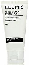 Profumi e cosmetici Crema contorno occhi - Elemis Men Time Defence Eye Reviver For Professional Use Only