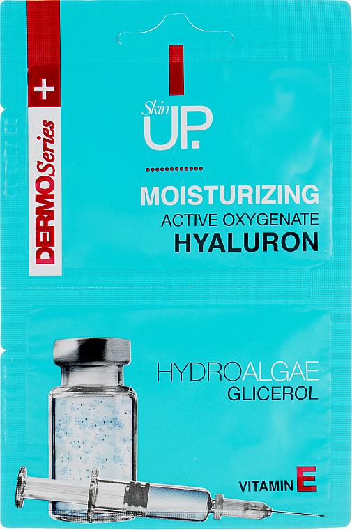 Maschera viso idratante con acido ialuronico, alghe verdi e vitamina E - Verona Laboratories DermoSerier Skin Up Face Mask