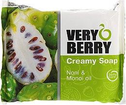 """Profumi e cosmetici Sapone-crema """"Noni di gelso indiano e olio di monoi"""" - Very Berry Noni & Monoi Oil"""